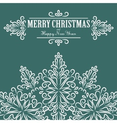 Vintage christmas background for invitation vector