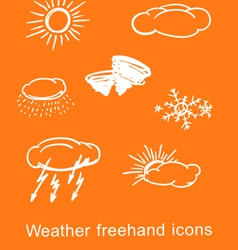Weather vector