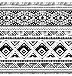 Ethnic ornamental textile seamless pattern vector