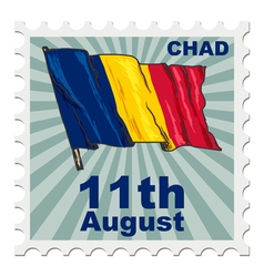 National day of chad vector