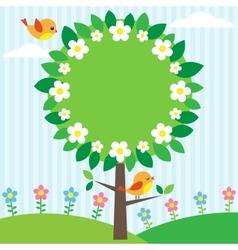Tree frame vector