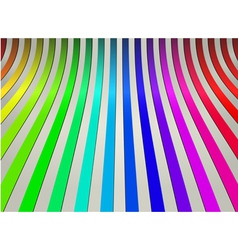 Colorful curve line abstract background vector