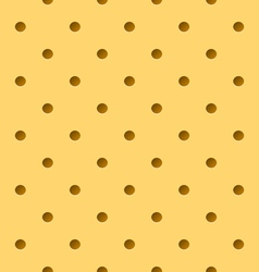 Perforated leather vector
