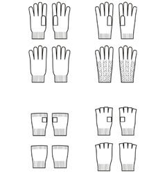 Gloves vector