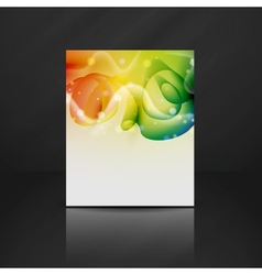 Colorful design vector