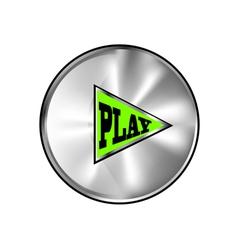 Play button vector