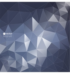 Abstract background with triangles and polygon vector