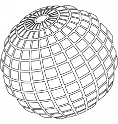 Ball wire vector