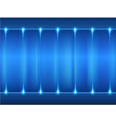Blue gradient glowing background vector