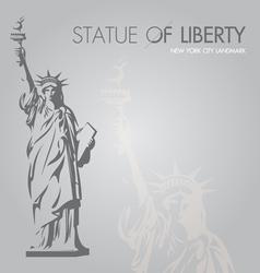 New york silouette symbol vector