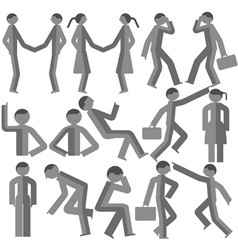 Dimensional bodily movement vector