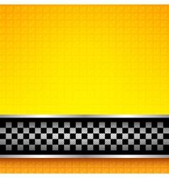 Racing background template vector