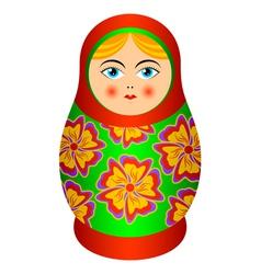 Russian souvenir vector