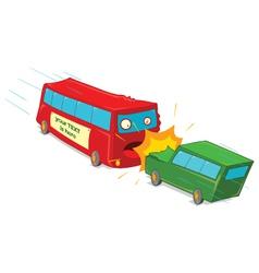 Vehicle crash vector