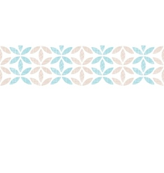 Abstract textile leaves stripes horizontal vector