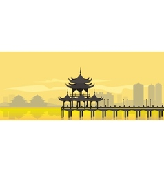 China national building vector