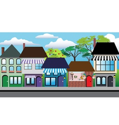 Store shops vector