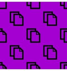 Blank paper web icon flat design seamless pattern vector
