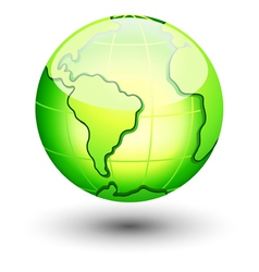 Earth icon vector