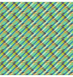 Multicolor modern version of houndstooth vector