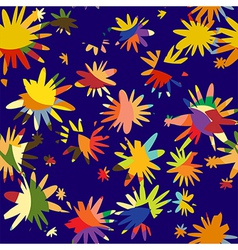Abstract to flower and petal vector