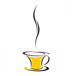 Hot drink vector