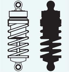 Shock absorber vector