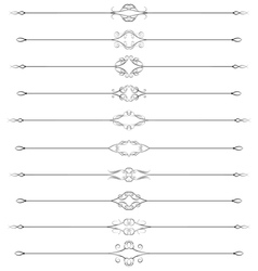 Swirled rules vector