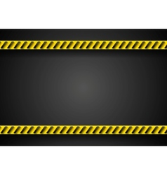 Danger tape abstract background vector