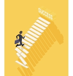 Way to success in business vector