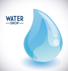 Water drop design vector