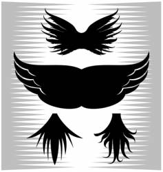 Ugly wing vector