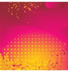 Abstract pink and orange background vector