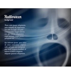 Halloween background with copyspace for text vector