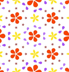 Pattern from the petals vector