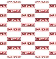 Top secret stamp seamless pattern vector