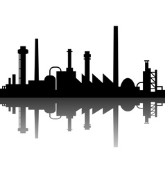Industrial background vector