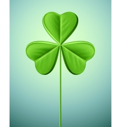 Isolated shamrock vector