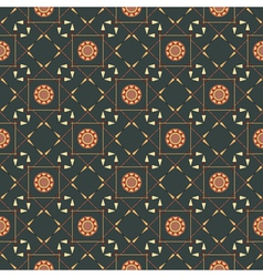 Seamless geometric pattern with arrows and spears vector