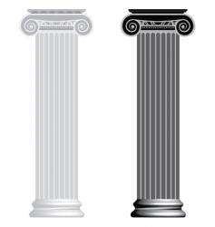 Ionic column vector