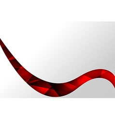 Abstact background red curve wave stripe line vector