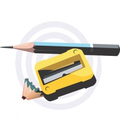 Cutter sharpened vector