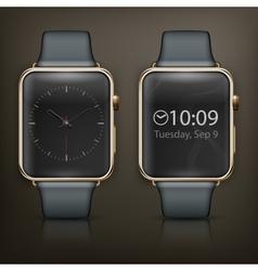 Two smart watch vector