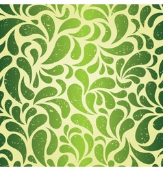 Green vintage wallpaper vector