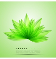 Abstract background flower vector