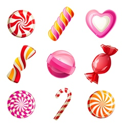 Candy set vector