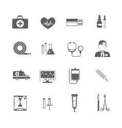 Simple medical icon vector