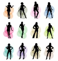 Female icons vector