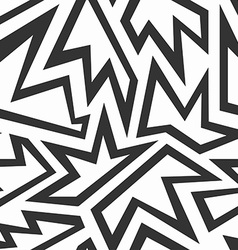 Monochrome foliage seamless pattern vector