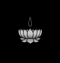 Ayyavazhi religion-lotus carrying namam vector